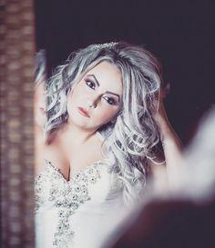 Jordan... Just moments before seeing her groom #finallook #bride #howdoilook #weddinginspiration #nearlyready #wedding #weddinglife #weddingsofinstagram #weddinginspo #anneedgarphoto #haciendasarria