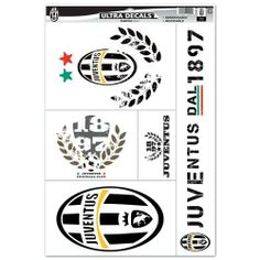 Juventus 11x17 Ultra Decal Sheet by Juventus F.C.. $7.94