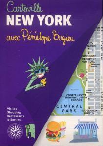 New York avec Pénélope Bagieu (illustratrice) Collection Carteville