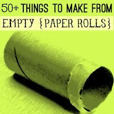 crafts for wrapping paper tubes - Google Search