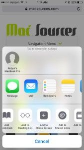 HOW-TO: Create a Home Screen Icon from Webpages