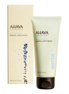 Stuff your Ahava Tote with the Mineral Hand Cream! $21.00