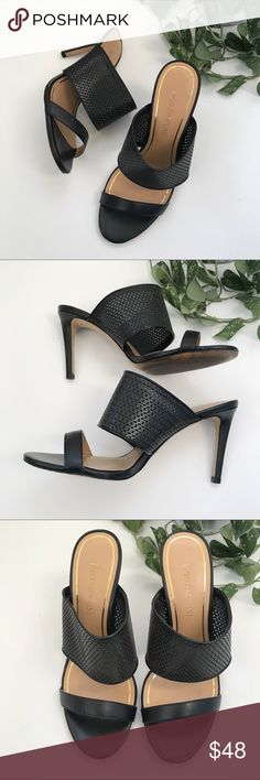 Enzo Angiolini Sandal Heels Beautiful heels! And so comfy! Excellent condition. Enzo Angiolini Shoes Heels