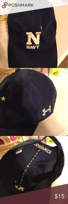 Under armour navy hat New without tags Under Armour Accessories Hats