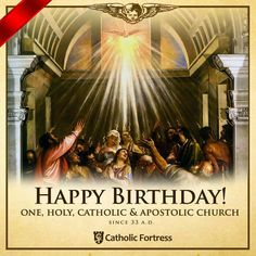 Pentecost My father passed on Pentecost so I'll always remember may This year, I started to go to the first church; Catholic News, Catholic Quotes, Catholic School, Catholic Prayers, Roman Catholic, Catholic Traditions, Spirit Of Truth, Holy Spirit, 1st Timothy 3