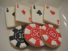How to Make Poker Chips | Posted by Mary at 10:49 AM