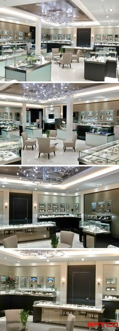 """Provident Jewelers. Manufacture & Design of Store Fixtures by Artco Group. """"The only way to do great work is to love what you do"""""""