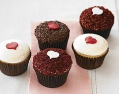 Perfect Endings Valentine's Day Cupcakes | Williams-Sonoma