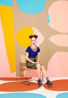 Laffy Taffy – JUCO Photo gets inspired by bold pop art colors and nineties style for their latest work featured as a FGR exclusive. Model Gabby certainly stands…