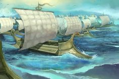 1000 Ships by JonHodgson on DeviantArt Fantasy Book Series, Fantasy Books, Daughter Of Zeus, Trojan War, Classical Antiquity, Historical Pictures, Old World, Mythology, Comic Art