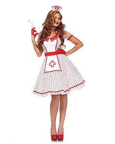 Adult Sweet Nurse Costume - Spirithalloween.com