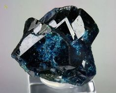 gemmy LAZULITE - rare find for this quality. Minerals And Gemstones, Rocks And Minerals, Stones And Crystals, Gem Stones, Rock Collection, Beautiful Rocks, Mineral Stone, Rocks And Gems, Yukon Territory