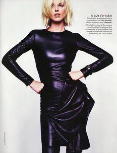 """Eva Herzigova by Jean-Baptiste Mondino for Elle France, August 28, 2009 """""""