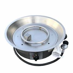 World Wide Wicker Fire Pit Burner/Burner Kit Size: Round