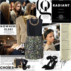 """Classy night"" by electric-bird on Polyvore"