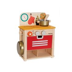 Plantoys Kinderküche im Set bei KidsWoodLove