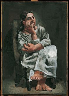 Pablo Picasso – Seated Woman, 1920