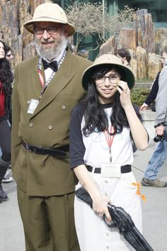 OKAY I JUST NEED TO SAY HOW MUCH I LOVE IT WHEN OLD PEOPLE COSPLAY