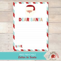 Free Santa Letter from Busy Little Bugs