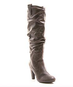 Gray Afina Boot #gray #boot #Afina