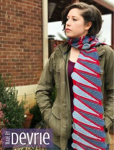This stunning 85 Stacked Wedge scarf pattern is a perfect way to express boldness and color. Enjoy the garter stitch and repeats that will create a beautiful piece of knitting. The design is perfect for either gender and can be made to fit children or adults. Please do not be intimidated by the color work. The pattern is written in a line by line format and will break down every detail for you to finish and feel accomplished.