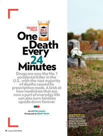 Drugs are now the number one accidental killer in the U.S., with the vast majority of those deaths caused by prescription meds.  Read this great article from People magazine alerting us to the dangers of the prescription drugs that are now a part of many families' everyday lives.  www.onedoterracommunity.com   https://www.facebook.com/#!/OneDoterraCommunity