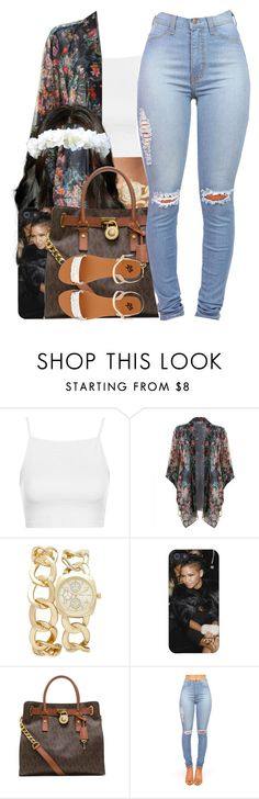 """Cassie / Me & You"" by nasiaamiraaa ❤ liked on Polyvore featuring Topshop, Forever New, MICHAEL Michael Kors, 2b bebe and NanaOutfits"