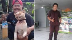 Indonesian man destroys cat while laughing about it! Demand animal protection laws in the country! | YouSignAnimals.org