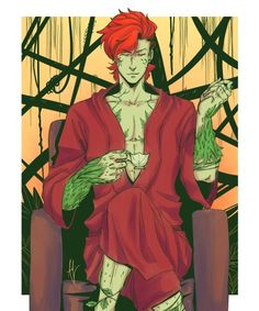 Poison Ivy - Genderbend - Visit to grab an amazing super hero shirt now on sale!