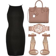 """""""All of these sins disguised as Blessings."""" by bria-myell on Polyvore featuring polyvore, fashion, style, River Island, Gianvito Rossi, Yves Saint Laurent, Michael Kors and clothing"""