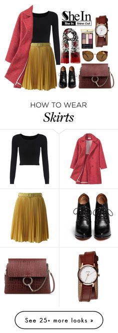 """""""Untitled #566"""" by a01012 on Polyvore featuring Chicwish, Givenchy, Chloé, Quay, Dolce&Gabbana, Yves Saint Laurent, Nixon, women's clothing, women's fashion and women"""