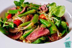 Thaise biefstuk salade - Uit de pan van San