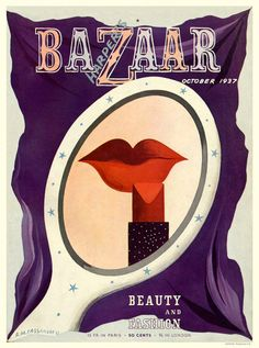 The strange and lovely Surrealism of 'Harper's Bazaar' in the Harper's Magazine, Magazine Covers, Graphic Art, Graphic Design, Vintage Magazines, Fashion Magazines, Harpers Bazaar, Artist Art, Vintage Advertisements