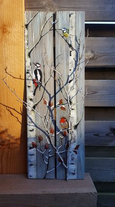 Wood Crafts Christmas Paintings Painting Furniture Hout Scilderen