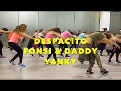 Despacito-Luis Fonsi & Daddy Yankee/Zumba by YSEL GONZALEZ - YouTube Dance Workout Videos, Zumba Videos, Workout Songs, Dance Music Videos, Zumba Fitness, Senior Fitness, Dance Fitness, Luis Fonsi Daddy Yankee, Zumba Routines