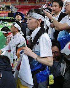内村選手の母周子さん :フォトニュース - リオ五輪・パラリンピック 2016:時事ドットコム