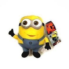 e560eadd8c Buy Despicable Me Minion 3 D Eyes Dave Stuffed Plush Doll Toy 9 Inches With  Tag online