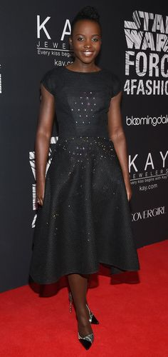"Lupita Nyong'o on the Message Behind Her <em>Star Wars</em> ""Force 4 Fashion"" Dress: ""I Like What This Stands For"""