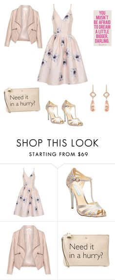"""You..."" by francy78 on Polyvore featuring moda, Chi Chi, Betsey Johnson, Zizzi, Anya Hindmarch, NSR Nina Runsdorf e Maybelline"