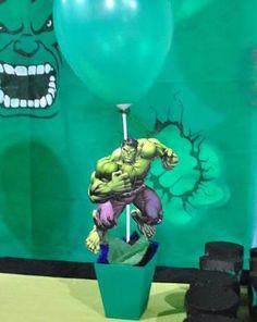 Resultado de imagem para centro de mesa do hulk