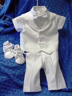Super cute.  Of course, it will never fit Austin by the time he is blessed.  Or maybe even by the time he is born.  :)