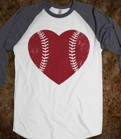 Baseball shirt - oh, I'm gonna have to make this in glitter vinyl!