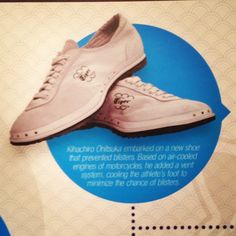 In 1959, Mr. Onitsuka embarked on a new shoe that prevented blisters. Based on air-cooled engines of motocycles, he added a vent system, cooling the athlete's foot. #OnitsukaTiger