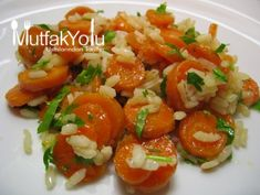Carrot Dinner Recipe with Olive Oil Diet Recipes, Vegetarian Recipes, Turkish Recipes, Ethnic Recipes, Recipe Images, Diet And Nutrition, Caprese Salad, Bruschetta, Appetizers