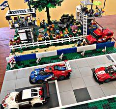Lego Speed Champions, Legos, Porsche, Basketball Court, Racing, Running, Lego, Auto Racing, Porch