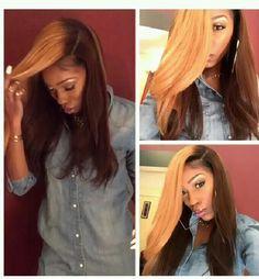 Sivolla Hair Co,.Ltd Raw Human Hair Lace Closure Lace Wig Hair extension. Love Hair, Great Hair, Gorgeous Hair, Beautiful, Weave Hairstyles, Pretty Hairstyles, Straight Hairstyles, Coiffure Hair, The Maxx