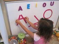 Magnetic Alphabet Builders | Confessions of a Homeschooler