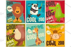 Zoo Park Posters by elfivetrov on @creativemarket
