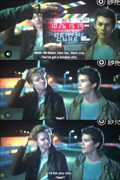 Bloopers Death Cure