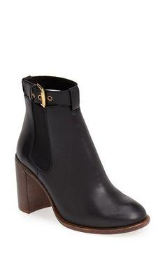 KG Kurt Geiger 'Sebastien' Leather Chelsea Bootie (Women) available at #Nordstrom